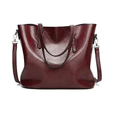 Amazon.com: Bolsas de mano grandes para mujer, bolso de ...