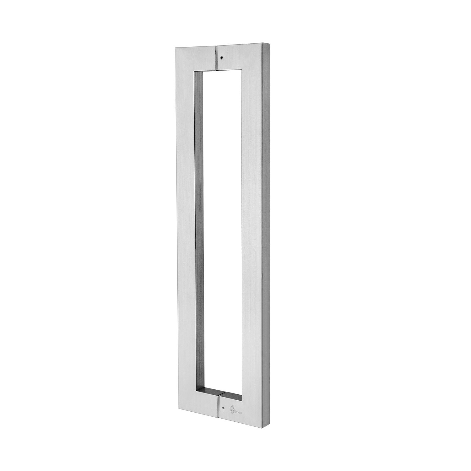 TOGU TG-6013 900mm/36 inches Square/Rectangle Shape Stainless Steel Push Pull Door Handle for Solid Wood, Timber, Glass and Steel Doors, Full Brushed Stainless Steel Finish