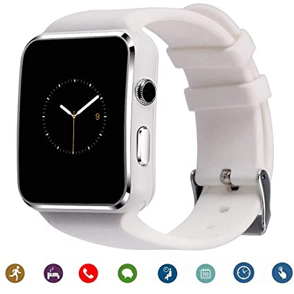 Smartwatch TagoBee TB-01 Bluetooth Smart Watch with Camera Music Player Supports SIM/TF Card 2.5D Touch Screen for Android Phones and iPhone (Partial ...