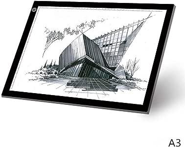 XFXDBT A3 Led Tablero De Trazado Digital,ultradelgada Mesa De Luz ...