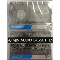 Fita Cassete 90 Minutos (kit 2 peças)
