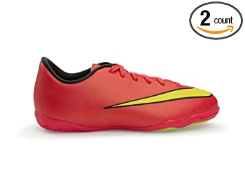 937b2a6ff purchase nike kids mercurial victory v indoor hyper punch volt black soccer  shoes 4bb37 5b47a