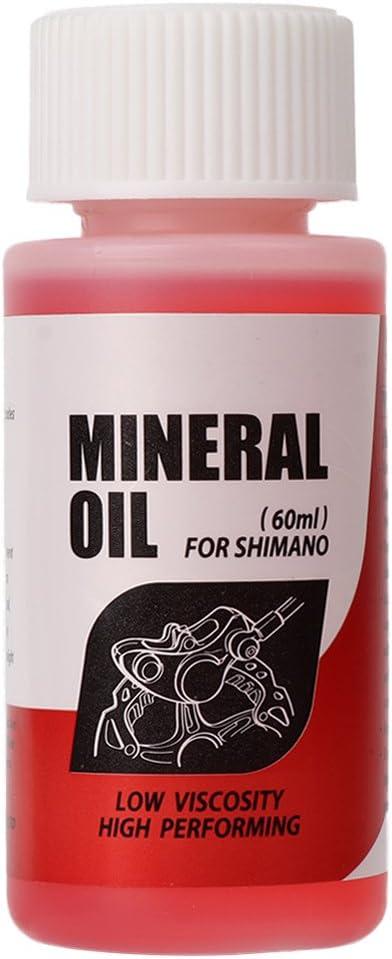 Fogun - Aceite mineral para sistema de frenos de bicicleta, 60 ml, para bicicletas de montaña Shimano