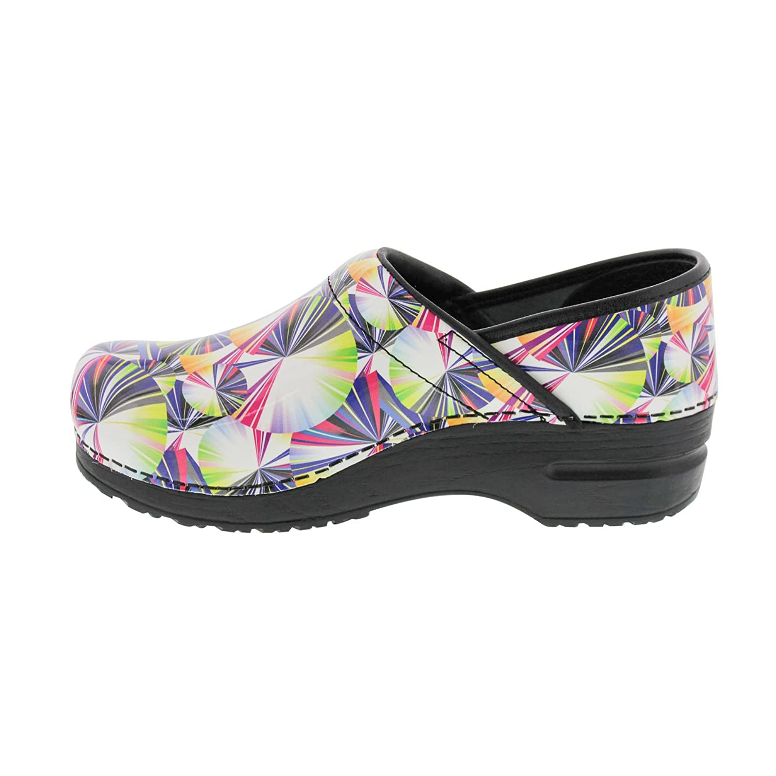 Sanita Women's Original Pro. Geo Clog 459156 Multi - 3