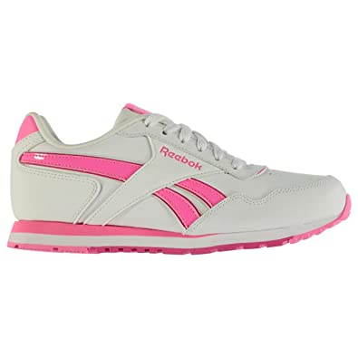 854176580a3b9 Official Reebok Classic Glide Junior Girls Trainers Shoes Footwear ...