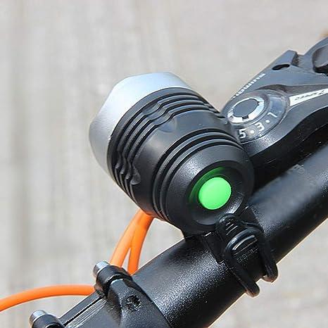 Faro de Bicicleta Super Brillante LED Bicicleta Bicicleta luz Faro 3 Modos Impermeable: Amazon.es: Deportes y aire libre
