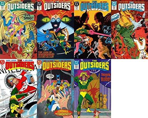 The Outsiders #20-26 (1985-1988) Limited Series DC Comics - 7 Comics