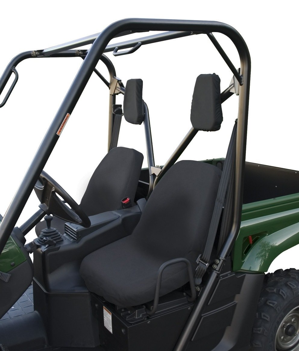 Classic Accessories QuadGear UTV Seat Cover (Black, Fits Yamaha Bucket)