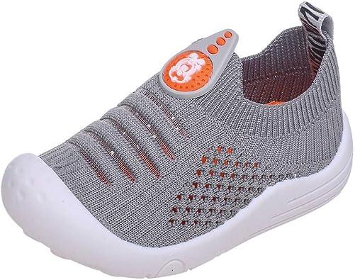 ZEELIY Chaussures Bébé,Chaussons Bébé,Souples Baskets, Chaussettes en Mesh Chaussures de Sport,Bébé Fille Chaussures Bébé Garçon 18EU 27EU
