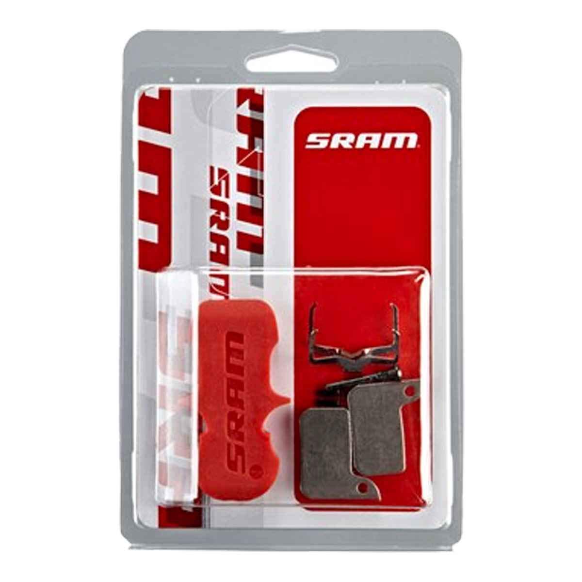 Force De Axs Disque Unisex-Adult Quiet Multicolore Taille Unique SRAM Plaquettes De Frein Organique//Acier Comprend Guide Pin, Clip /& Pad Spreader