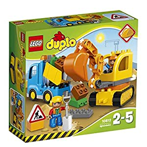 LEGO DUPLO Truck & Tracked Excavator 10812 Playset Toy