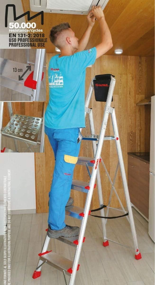 ESCALERA TIJERA 7 PELDAÑOS ELEGANCE EN947: Amazon.es: Bricolaje y herramientas