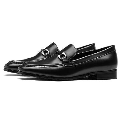 OPP Men's Classic Fashion Dress Shoes Low Heel Color Blue