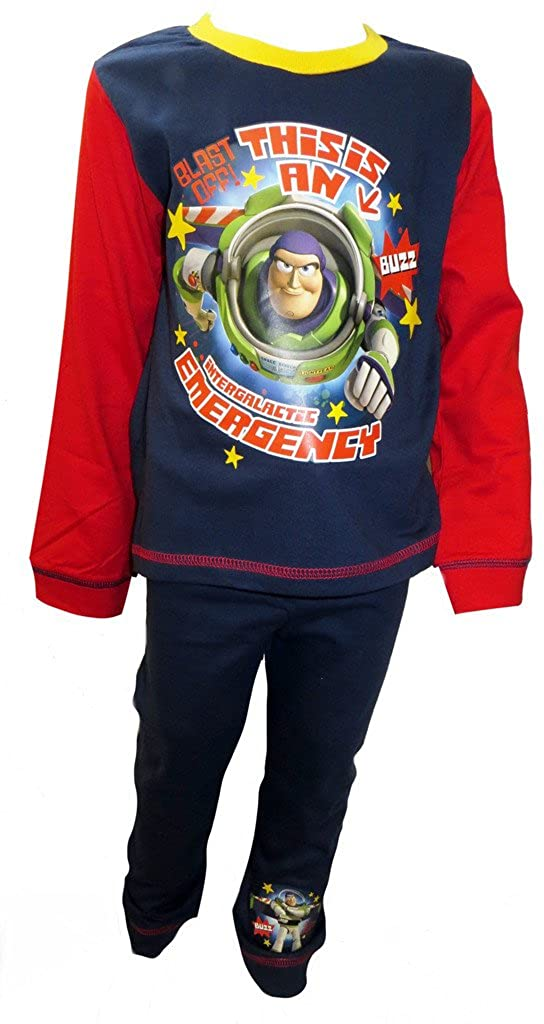Toy Story Buzz Lightyear Intergalactic Little Boys Pyjamas
