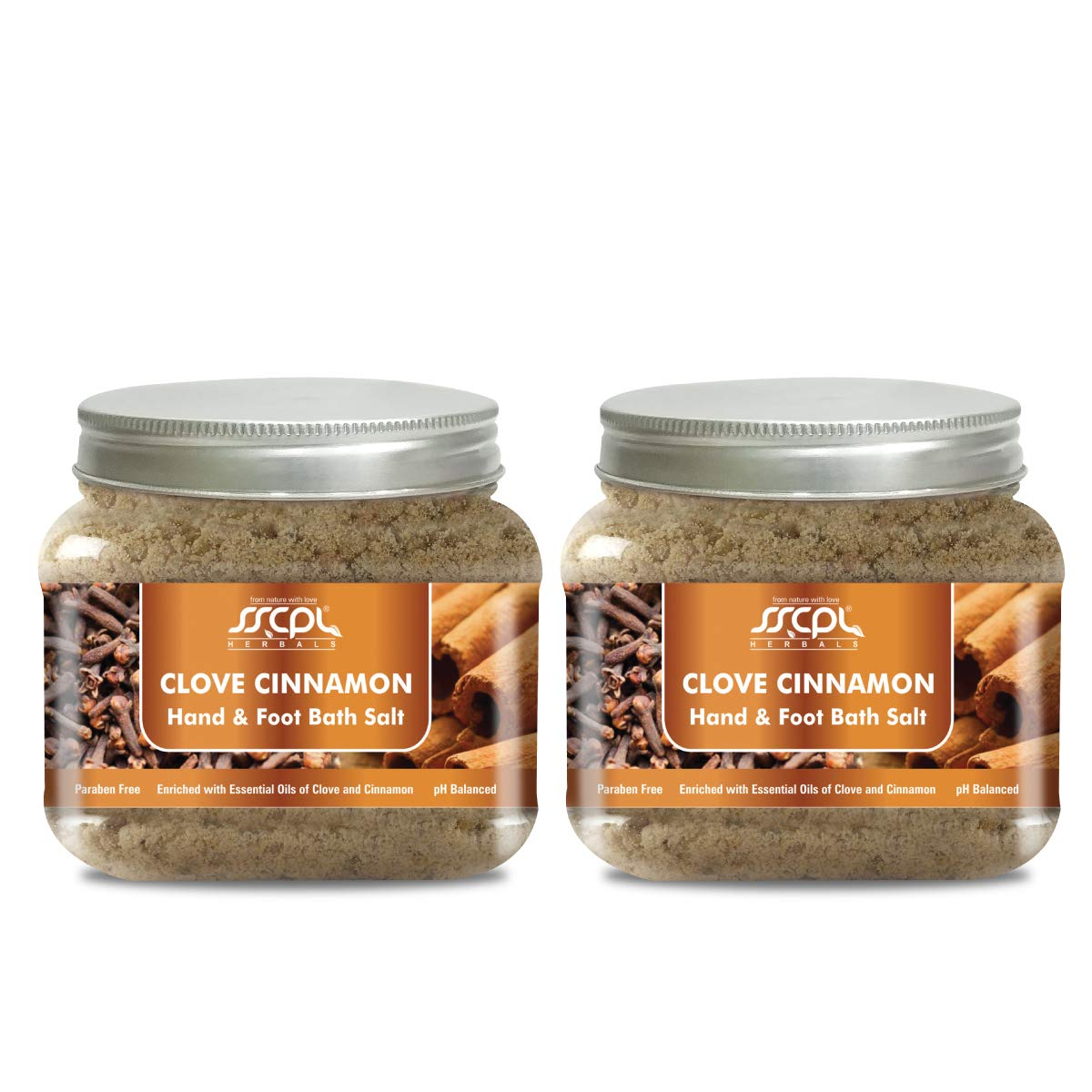 Use Clove Cinnamon Bath Salt for Healthy and Youthful Hands and Feet