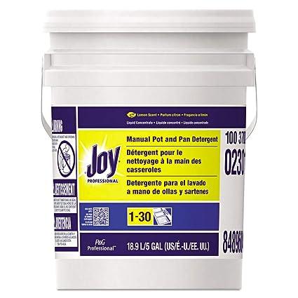Amazon.com: Joy 70683 Dishwashing Liquid, Lemon, Five Gallon Pail ...