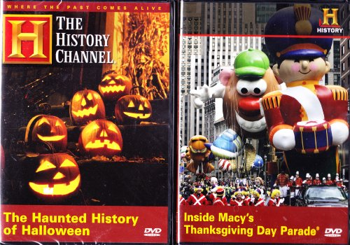 The History Channel : The Haunted History Of Halloween , Inside The Macy's Thanksgiving Parade : Fall Classics 2 Pack -