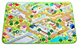 """MMP Living Kids Soft, Fleece Play Mat with Slip-Resistant Backing, Indoor/Outdoor, Machine Washable, 59"""" L x 39"""" W"""