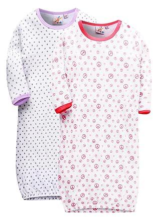 428d6b4b5318 Marquebaby Baby Girls Boys Summer Sleep Gown - 100% Breathable ...
