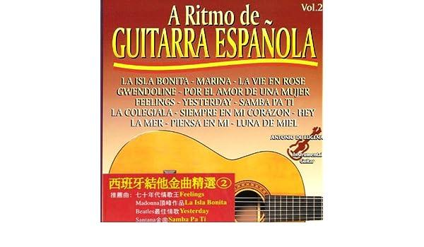 A Ritmo De Guitarra Española Vol. 2 de Antonio De Lucena en Amazon ...