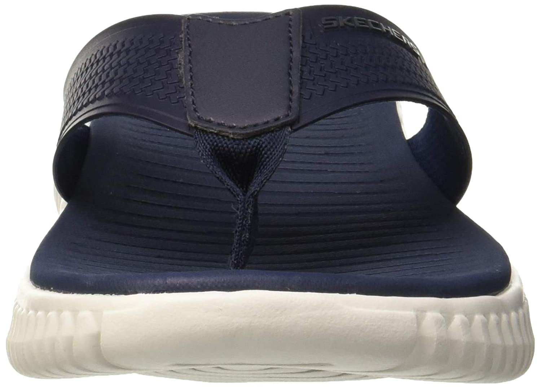 29727af3edf2 Skechers Men s Elite Flex- Coastal Mist Flip Flops  Amazon.co.uk  Shoes    Bags