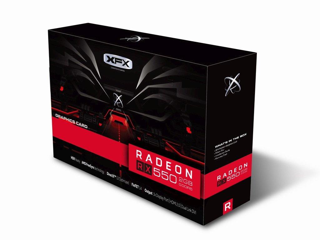 XFX RX 550 SingleFan