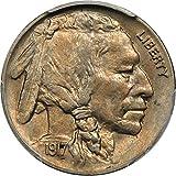 1917 P Buffalo Nickels Nickel MS63 PCGS