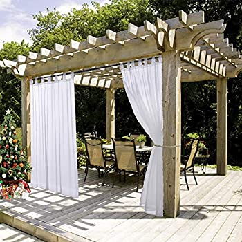Velcro Tab Top Outdoor Curtains Uk Flisol Home