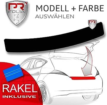 Pr Folia Ladekantenschutz Für Eclipse Cross Ab Bj 2018 Schwarz Stoßstangenschutz Folie Lackschutzfolie Inkl Rakel Auto