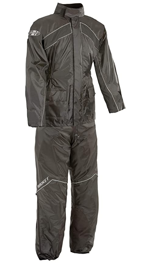 search for official sold worldwide various kinds of Joe Rocket RS-2 Men's Motorcycle Rain Suit (Black, Large)