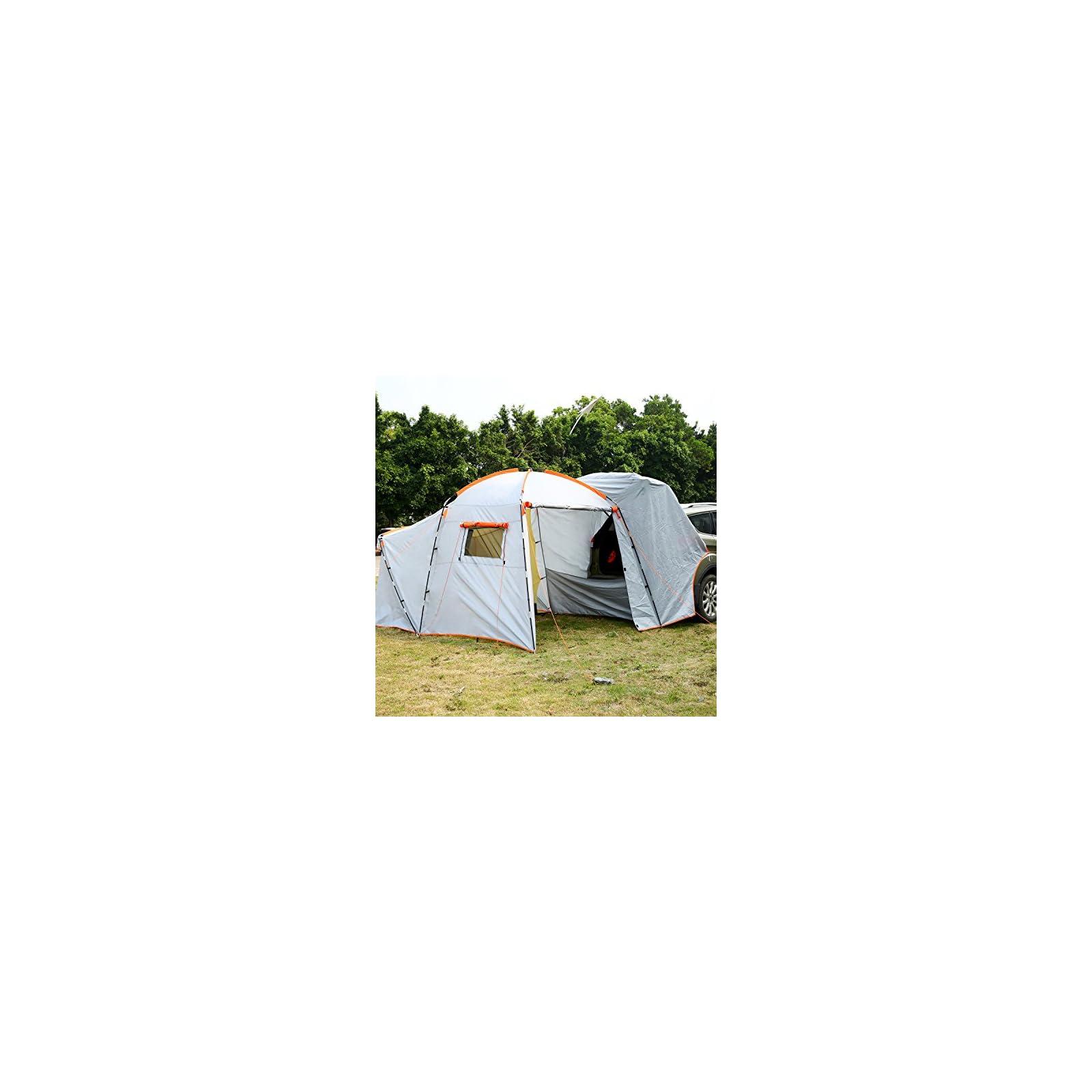 Hosmat SUV Tailgate Tent, 6-8 Person SUV Tent, Portable ...