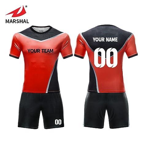 dd9de2393a4 ZHOUKA Wholesale custom jersey soccer football sports jersey football kit  soccer shirt football uniform: Amazon.co.uk: Sports & Outdoors