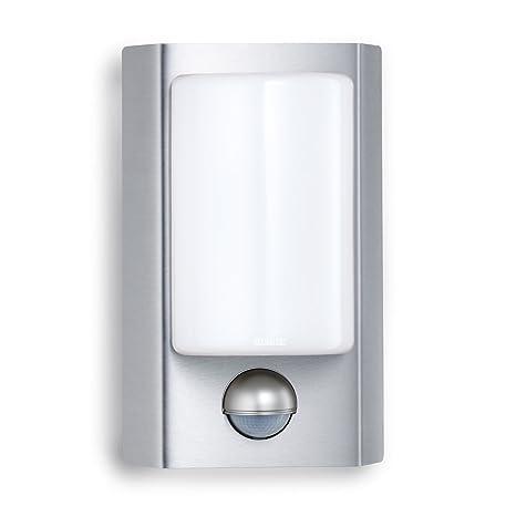 Steinel Lampada Sensore per Esterni L 610 LED, Plateado 004026