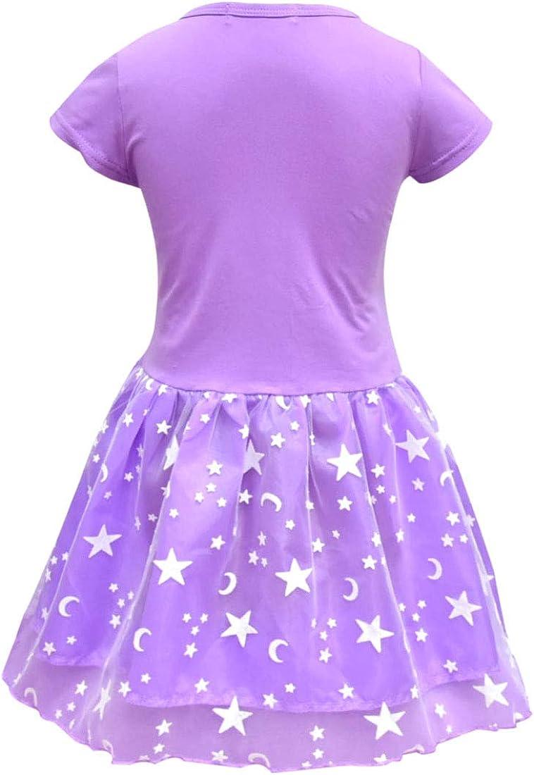 Dgfstm Kleid f/ür Baby//M/ädchen /ärmellos Prinzessinnen-Kleid