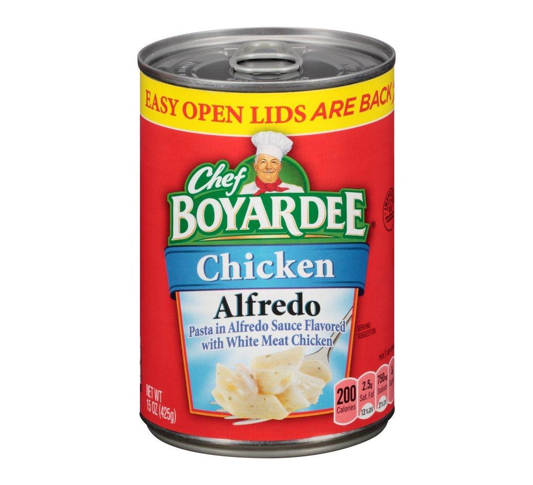 Chef Boyardee Chicken Alfredo 15oz Can (Pack of 12)