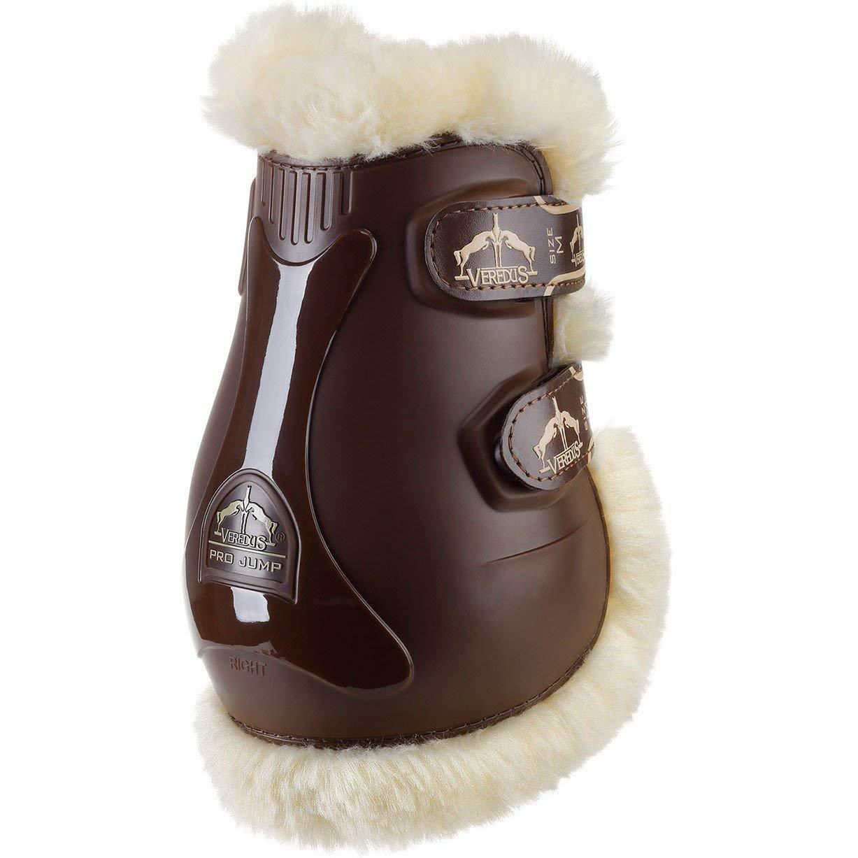 Veredus Pro Jump Save The Sheep Fetlock Boots Medium brown