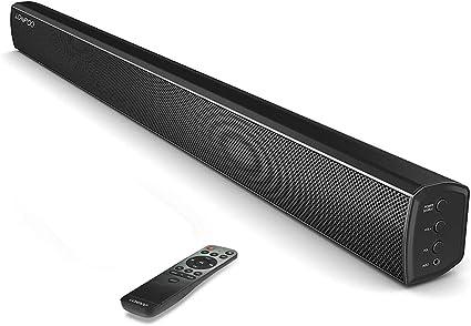 LONPOO 40W TV Barra de Sonido Bluetooth 2.0 Canales DSP Estéreo ...