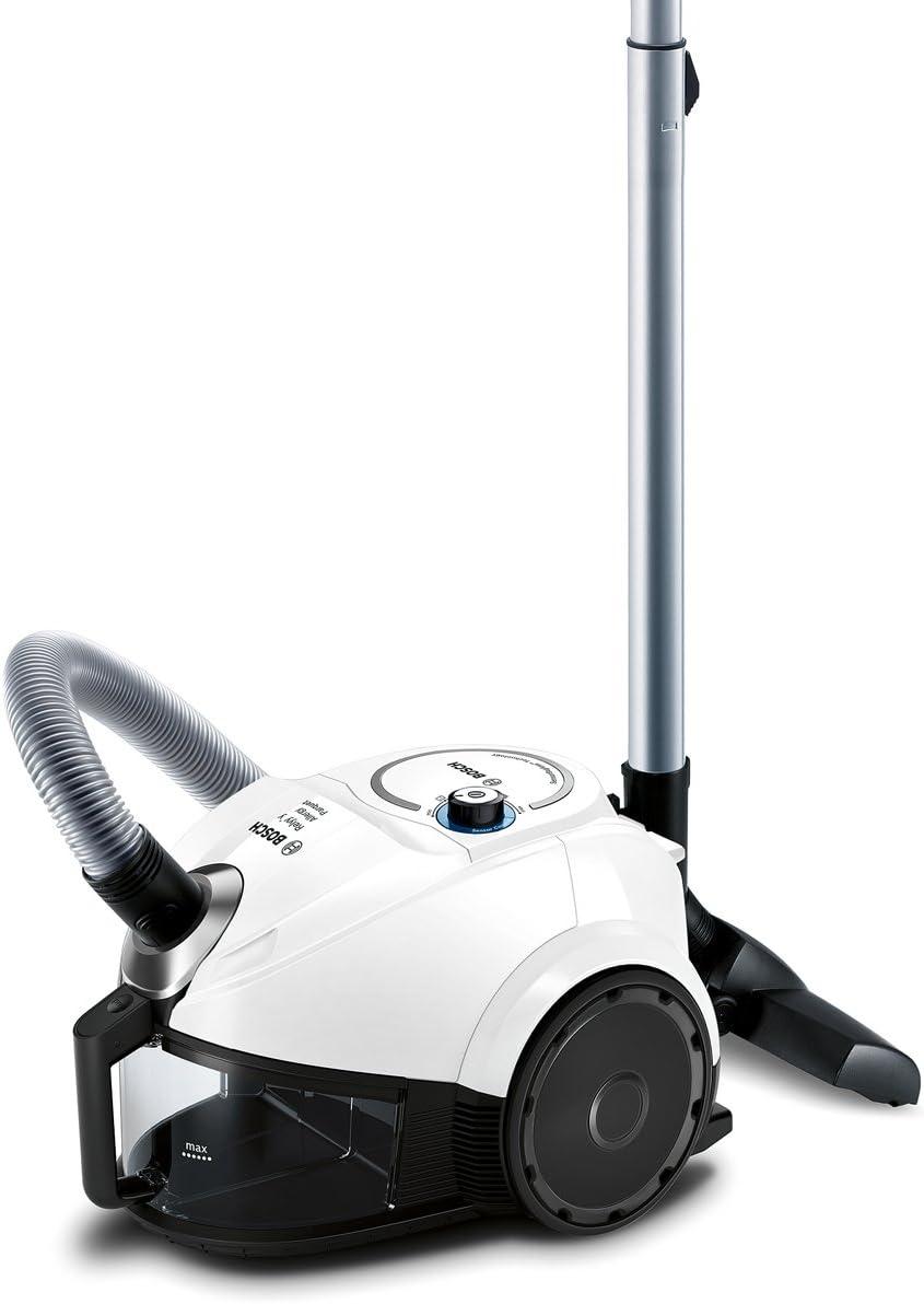 Bosch BGC3U131 Aspirador sin bolsa, 600 W, 1.7 litros, 80 Decibelios, Blanco: Amazon.es: Hogar