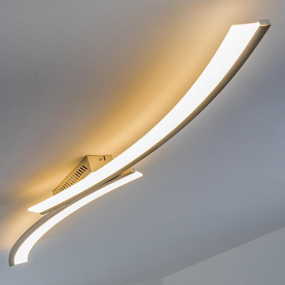 24 Watt LED Decken-Leuchte – LED-Deckenleuchte 3000 Kelvin warmweißes gemütliches Licht – Wohnzimmerlampe – Flurlicht – Küchen-Beleuchtung [Energieklasse A++]