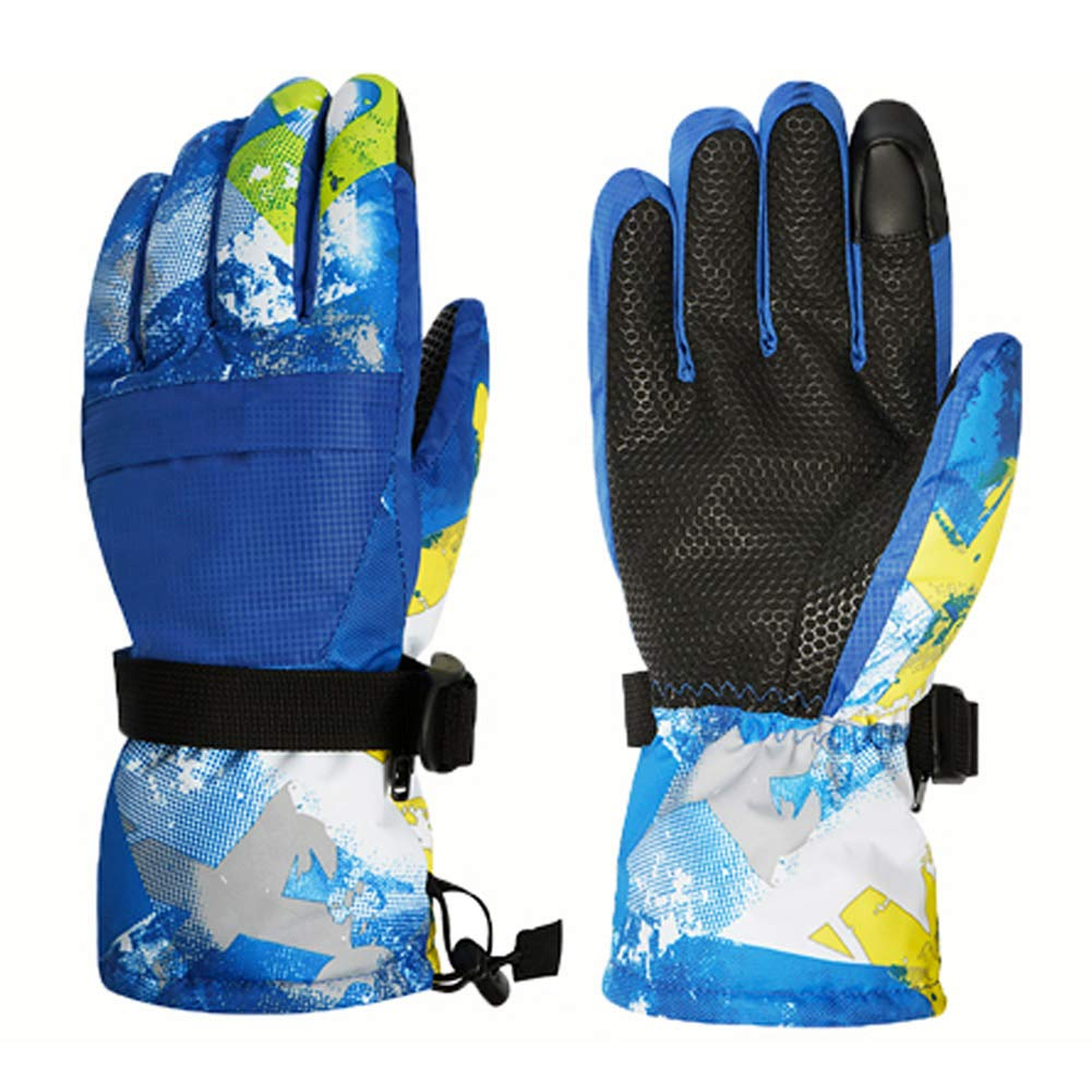 Cold Weather Waterproof Glove Magic Stretch Winter Warm Snow Gloves for Mens Boys Girls Ski Gloves Womens