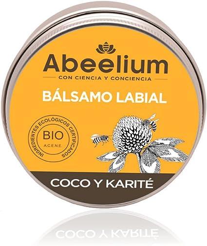 Abeelium | Bálsamo Labial BIO de Coco y Miel | Repara y Suaviza tus Labios -Natural y Ecológico Hecho en España - 15 ml: Amazon.es: Belleza