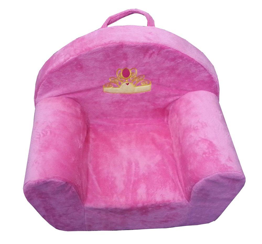 Kindersessel rosa  Sessel Kinder Kindersessel Couch Plüschsessel Hocker für Kinder ...