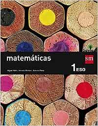 Matemáticas. 1 ESO. Savia - 9788467575941