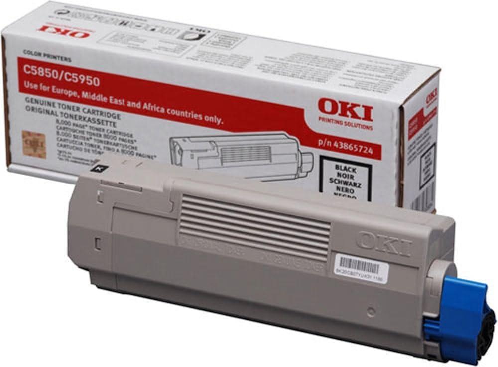 OKI 43865724 - Cartucho de tóner: Oki: Amazon.es: Electrónica