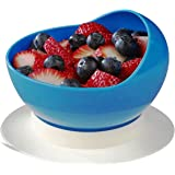 Ableware Scooper Bowl with Suction Cup Base, Blue (745340000)