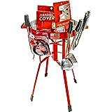 "FIREDISC Ultimate Backyard Bundle   Includes Original 36"" Tall FireDisc Propane Cooker Red   FireDisc Cover   Ultimate Cookin"