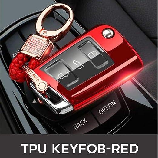 BYSDSG para 2019 Car Key Cover Case Protect para Volkswagen ...