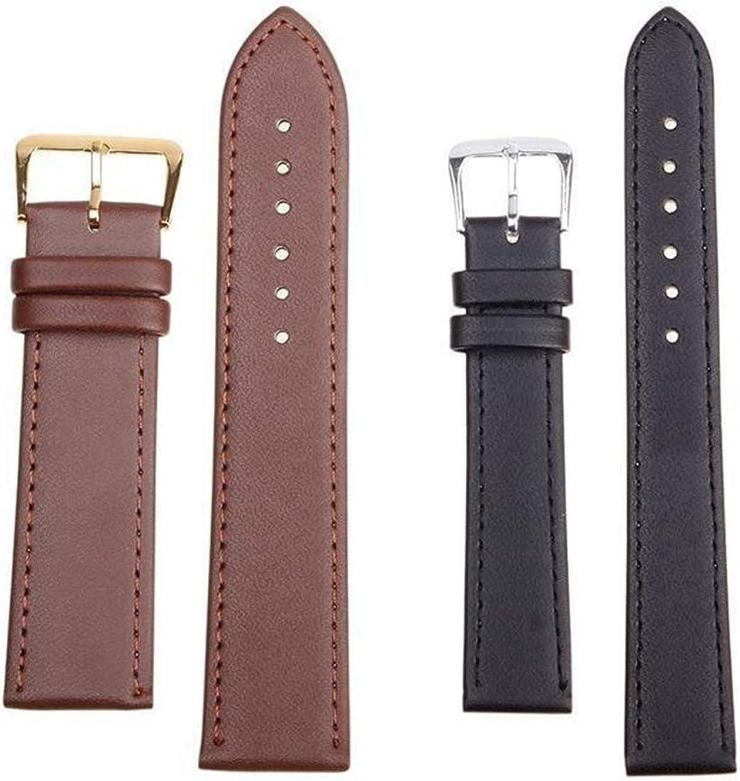 10mm/12mm/14mm/16mm/18mm/20mm/22mm/24mm Männer und Frauen Pin Buckle Armband Wrist PU-Leder Klassische Armband Purple
