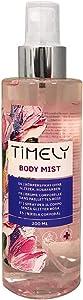 Timely - Bruma corporal con fragancia sensual, 200 ml