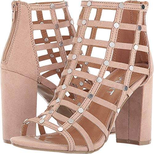 Report Womens Wesley Open Toe Ankle Strap Classic Pumps, Pink, Size 9.0 ()